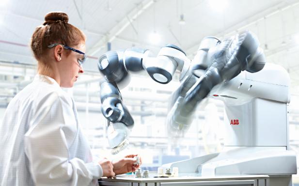 激荡工业机器人