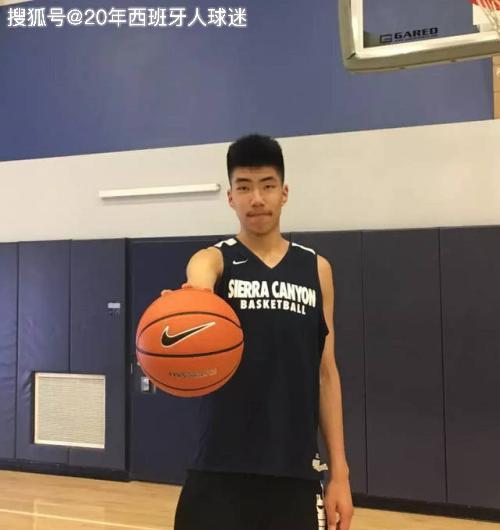 下一个姚明?中国16岁的小将火了,身高2米18与詹姆斯儿子做队友