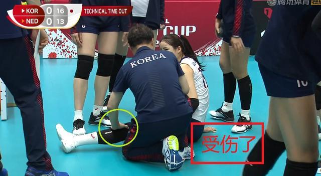 韩国队不敌荷兰!普拉克重扣球速破百,李多英受伤、谁注意金软景