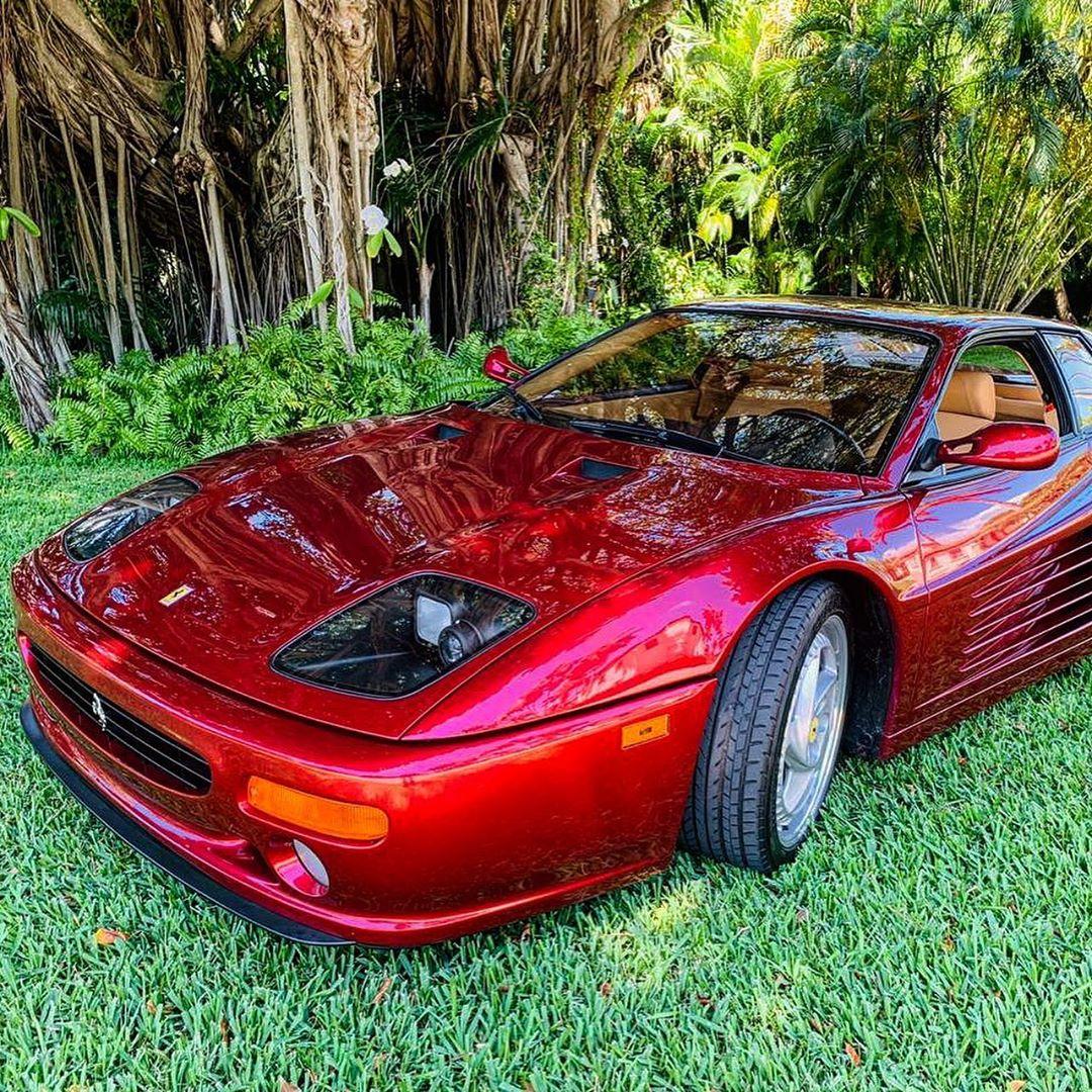 终极一�zf��jm_来自1995年法拉利f512m,仍然拥有浓浓的超跑范!