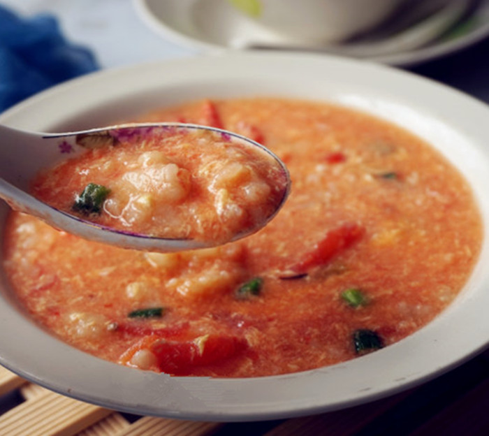 不用慢炖也好喝的馋游记西红柿疙瘩汤