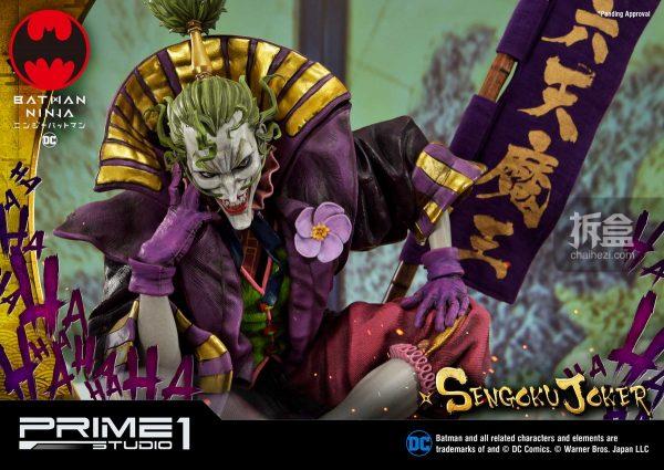 prime 1 studio dc漫画《忍者蝙蝠侠》小丑joker 1:4雕像