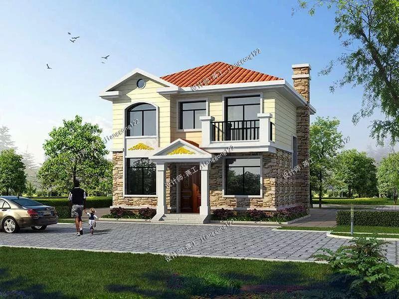 农村80平自建房设计图