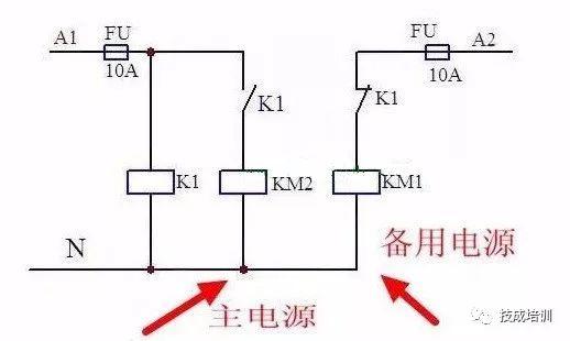 通过原理图讲清楚双电源自动切换电路~