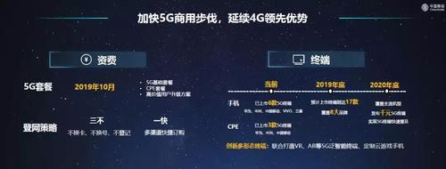 5G加速推广 中国移动10月公布5G套餐资费