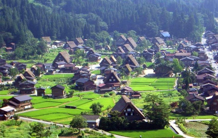 实拍日本农村的真实面貌