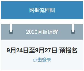 明日9时起2020考研预报名入口即将开通!