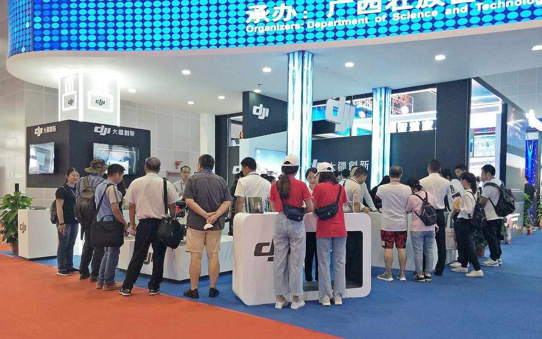 无电刷电动机,DJI 大疆创新亮相东盟博览会,持续深耕东南亚市场_无人机