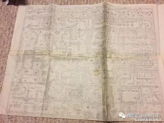 玩家晒20年前《塞尔达传说:织梦岛》手绘地图 ns版仍好用