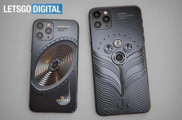Caviar推限量定制款iPhone机型:太空+泰坦尼克主题