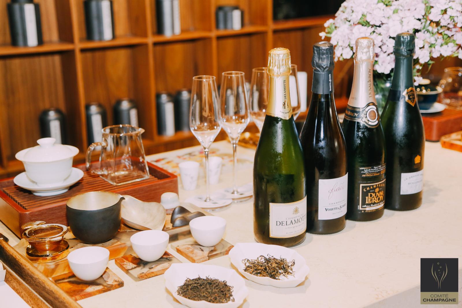 <b>国茶话香槟,一场新奇而美妙的感官盛宴</b>