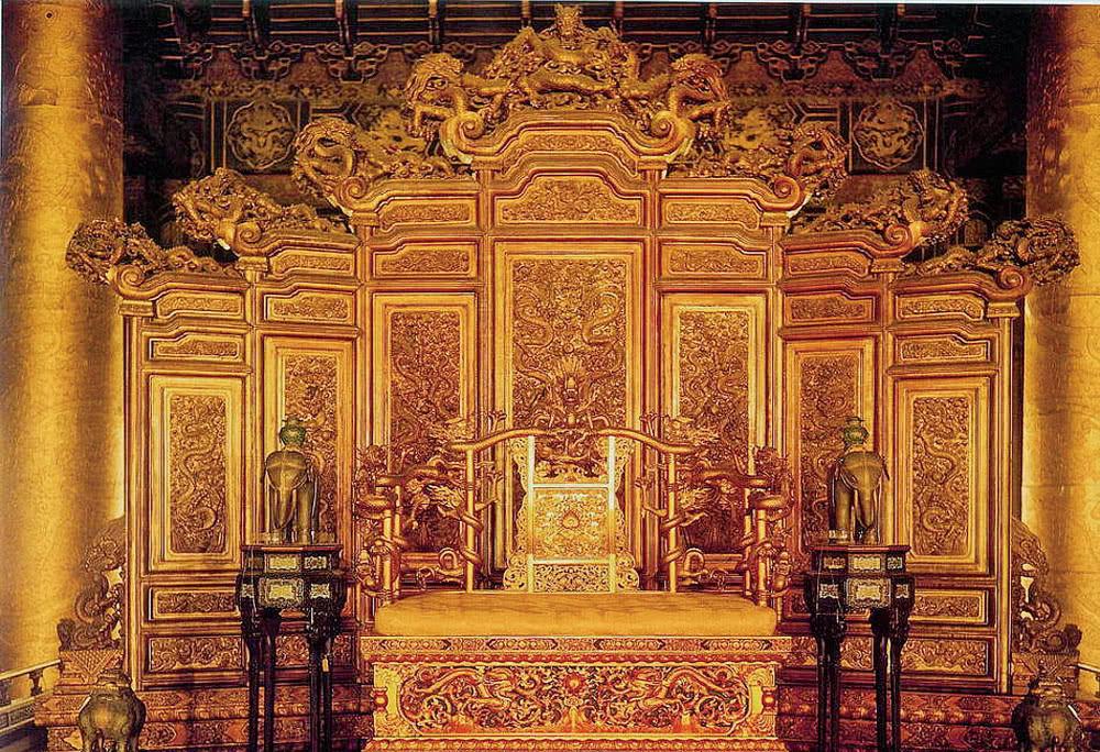 清朝皇帝坐了两百年的龙椅其实是明朝皇帝留下来的