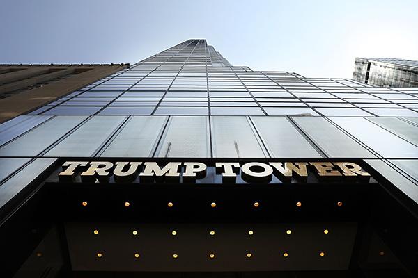 價值超35萬美元珠寶被盜紐約特朗普大廈接連發生竊案