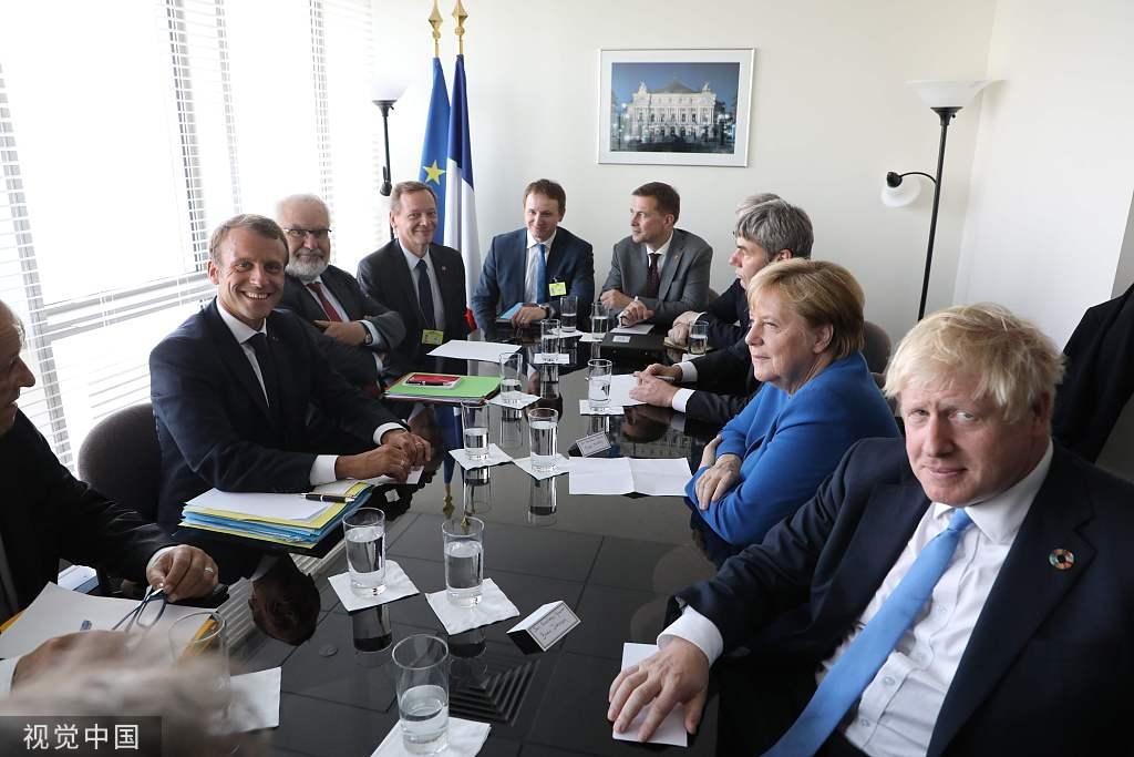英、法、德发布结合声明:伊朗应为沙特石油举措措施遇袭担任