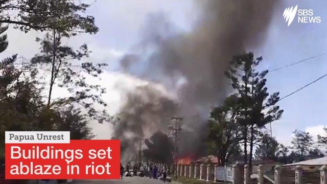 印尼学活泼乱,火烧当局大年夜楼致26逝世