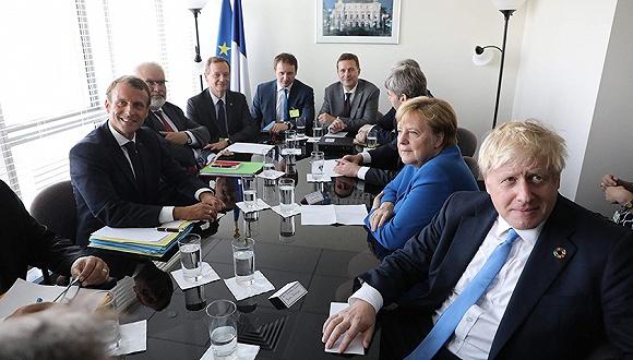 英法德改口敦促磋商伊核协议新框架,伊朗外长:拿永久取消制裁来换