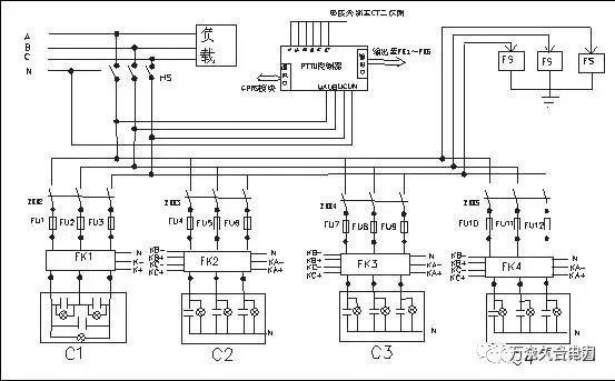 低压配电设计中电容补偿容量计算分析