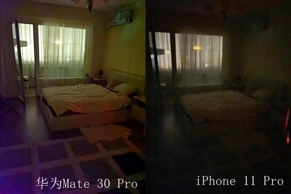 <b>四大旗舰极限弱光拍照对比华为Mate30Pro一骑绝尘</b>