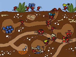 作文蚂蚁搬家