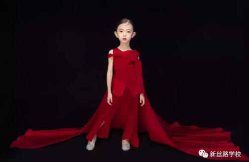 2019青岛新丝路少儿模特形象推广大使——高宇婷