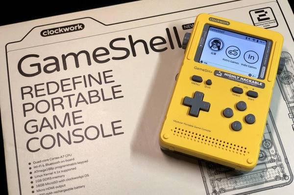 掌机?树莓派?开发板?不,它是GameShell