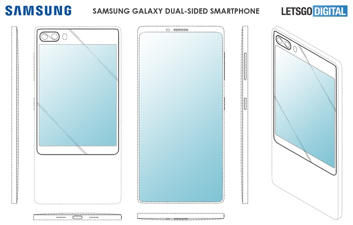 三星GalaxyS11e概念图曝光另类双屏显示设计