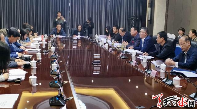 甘肃政法系统庆祝新中国成立70周年大型宣传活动采访团来天水采访