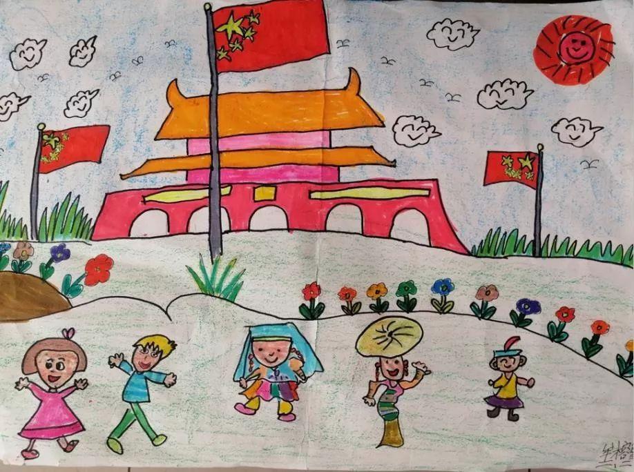 童心筑梦 我和我的祖国 绘画作品投票开始啦 快为您喜爱的小画家投票吧