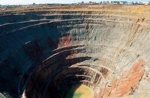 世界最大的十大人工矿坑,十大露天矿