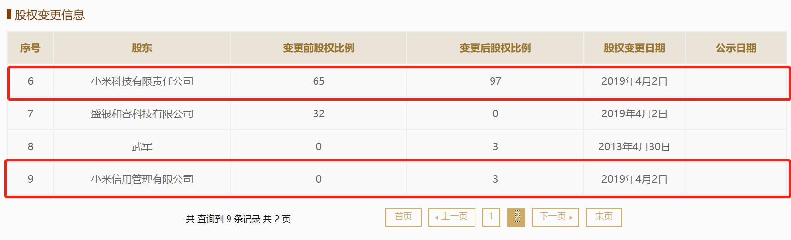 """小米集团全资控股后 捷付睿通迎来高管""""大年夜换血"""""""