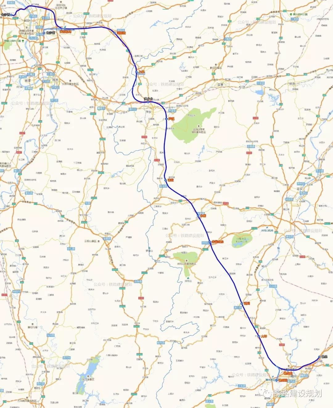 图片来源:铁路建设规划