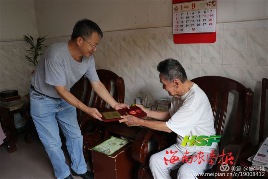 海垦广坝农场公司开展走访慰问老干部活动
