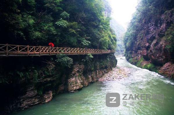 """""""十一""""假期怎么玩南江大峡谷5种玩法等你来"""
