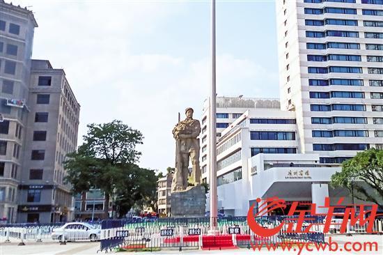 广州海珠广场升级换新颜突出市民化和智慧生态化