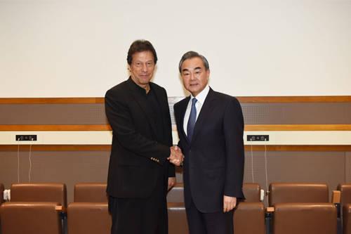 一个月内,王毅再次会见巴总理