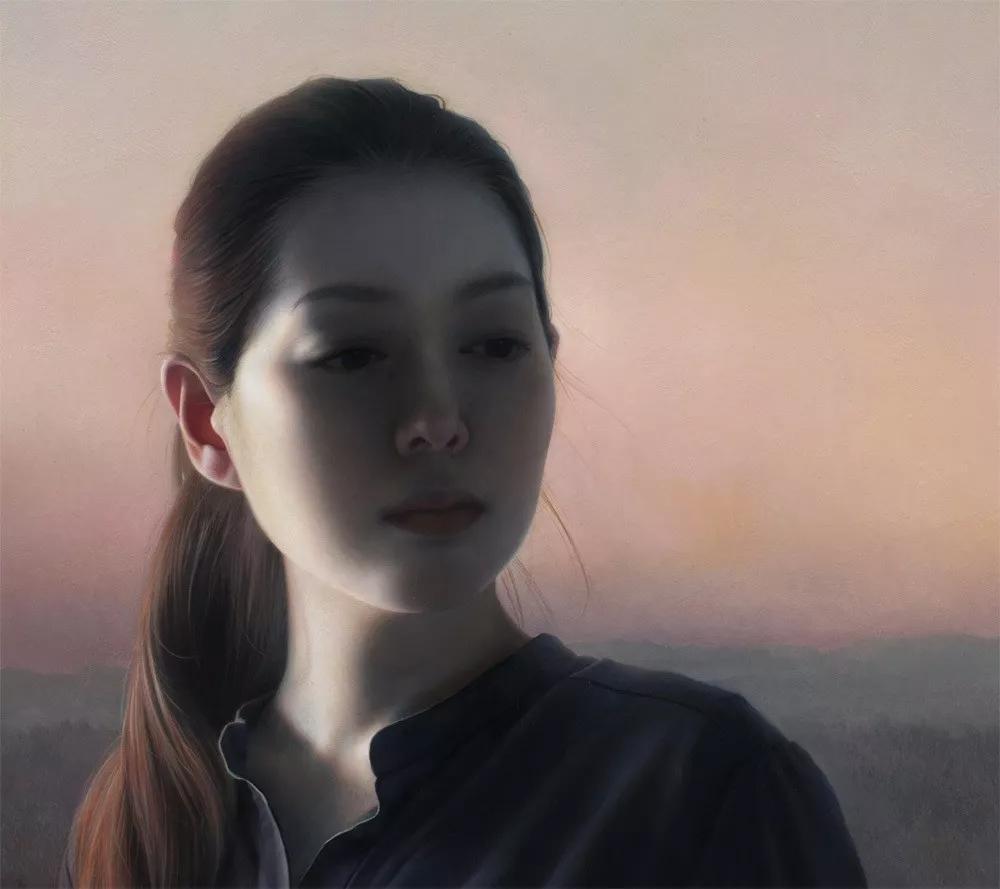日本艺术家卯野和宏的写实油画,好唯美!