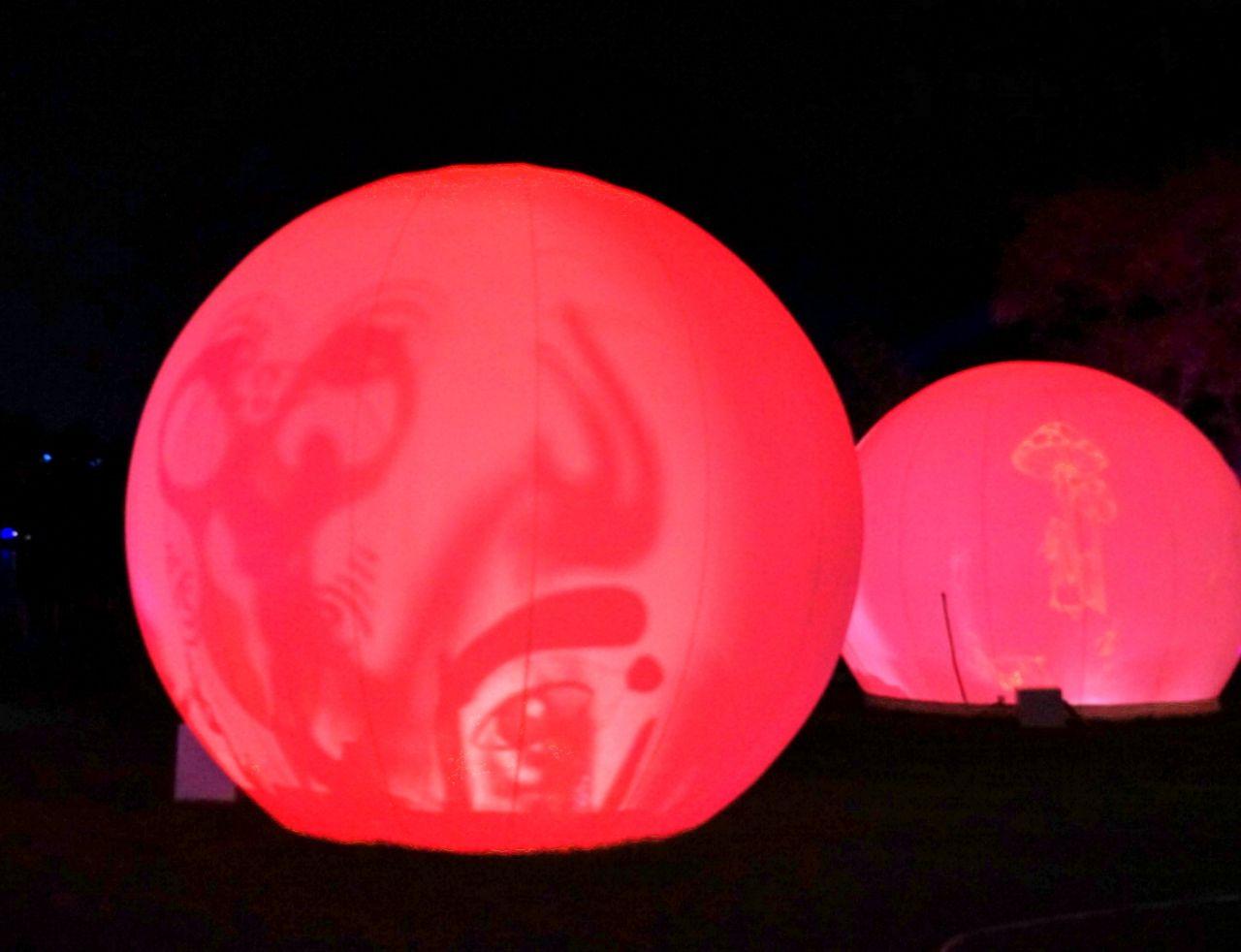 原创             北京周边游,十一固安有新玩法,光影节上演精彩绝伦的视觉盛宴