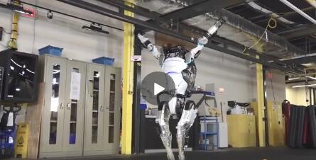 波士顿动力机器人再次进化:可轻松完成360度空中转体