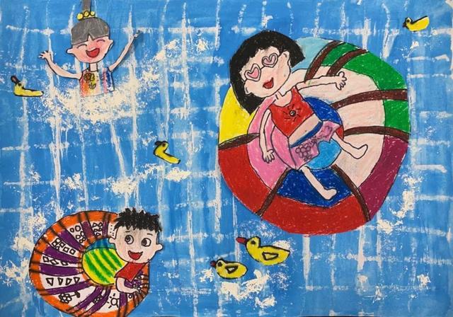 """我的中国梦·和祖国""""童""""行绘画评展等你来投票!(学龄前组)"""