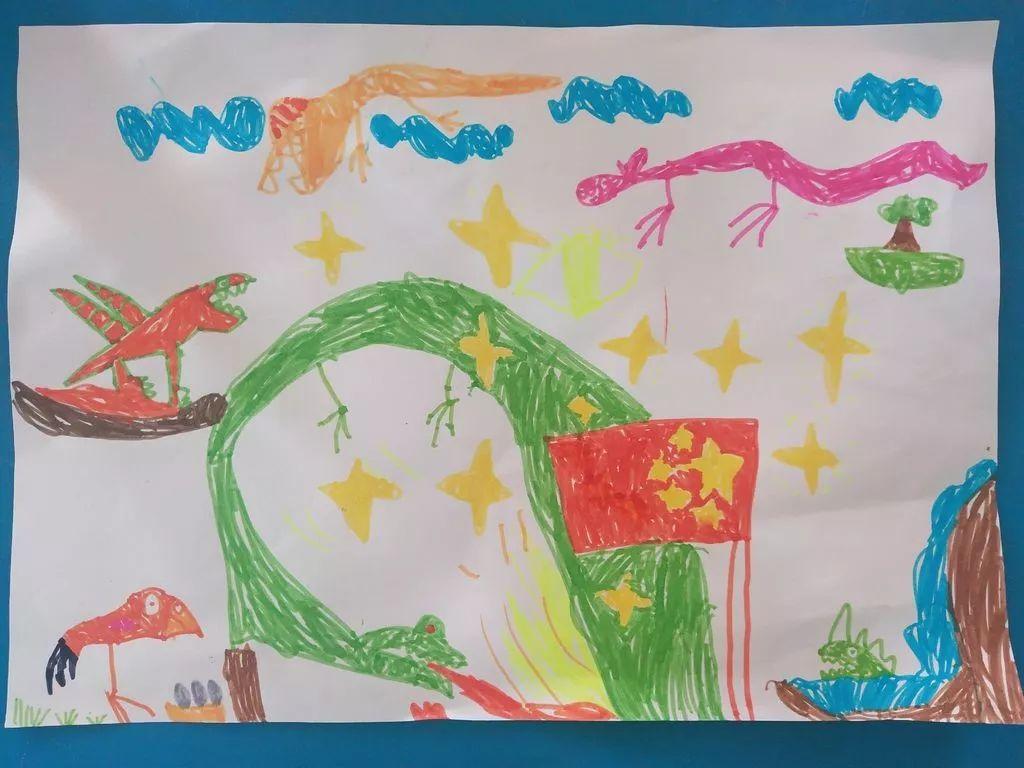 《中国梦我的梦》 《我爱中华》 《欢度国庆》 《祖国70周年》 《龙