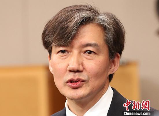 涉嫌提交假实习证明韩法务部长之子接受检方调查