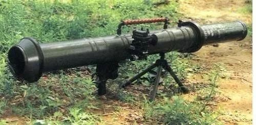 反坦克火箭筒集结了杀伤、燃烧等多功能于一身