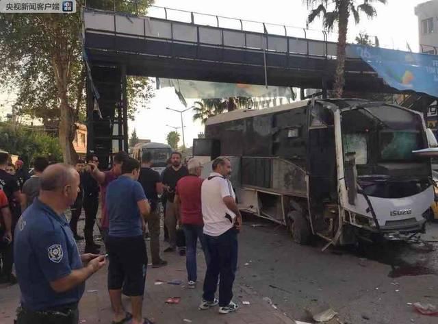 土耳其阿达纳产生炸弹爆炸 已致5人受伤
