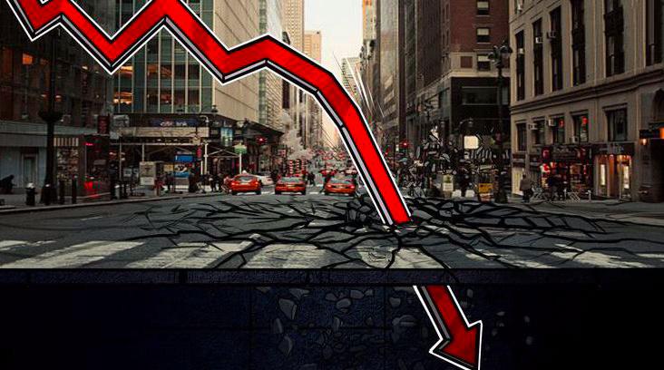 """血流成河,币市过去24小时爆仓66亿,""""比特币暴跌""""再登微博热搜"""