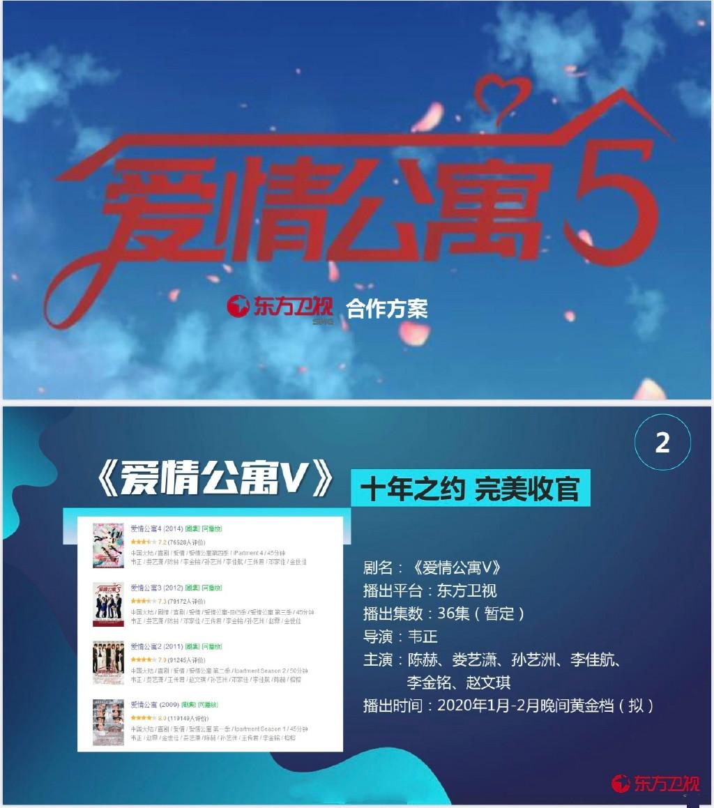 《爱情公寓5》拟定春节档期,西方卫视播出,可否持续笑傲收视率