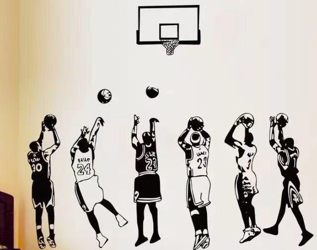 NBA球员投篮之后的压腕动作,谁的手型最好看?你选择一下