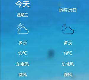 天气早知道(9.25-9.26)