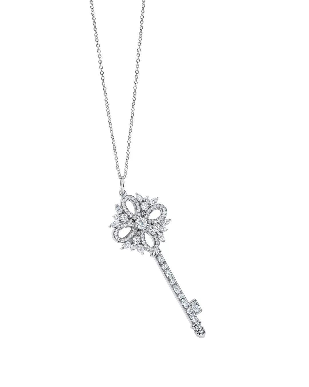 蒂芙尼Tiffany项链 1837系列经典双环18K金双环吊坠项链... -京东