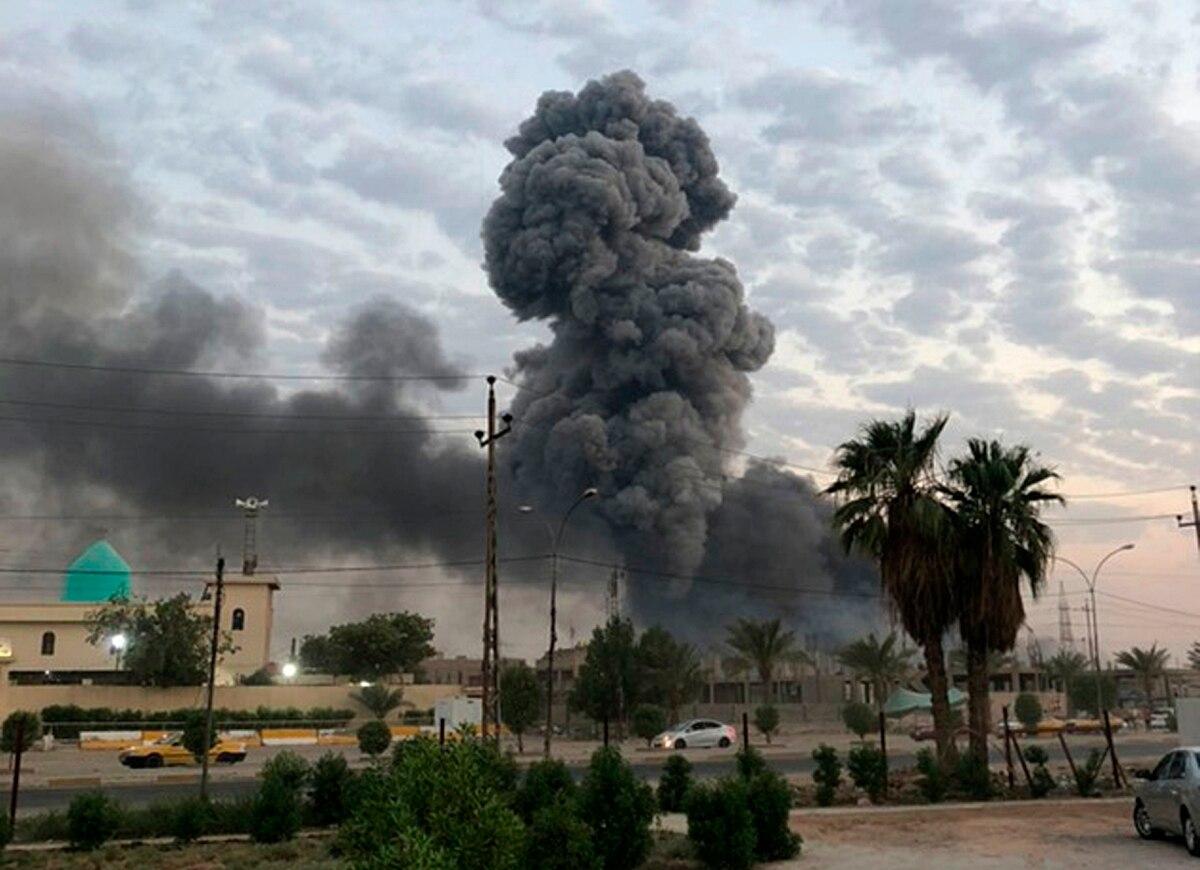 伊朗一夜间调转枪口!重型火箭轮番袭击美大使馆,大批外交官撤离