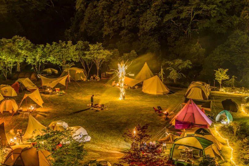 ¥199起(2大1小),秋日露营狂欢节!睡森林房车,还有美食集市、篝火晚会
